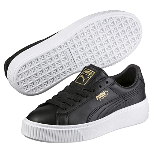 online retailer e10a5 94b6e PUMA Women's Basket Platform Core Low-Top Sneakers