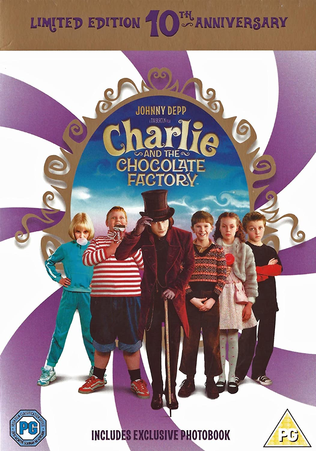 Charlie and the Chocolate Factory [DVD] [2015]: Amazon.co.uk ...