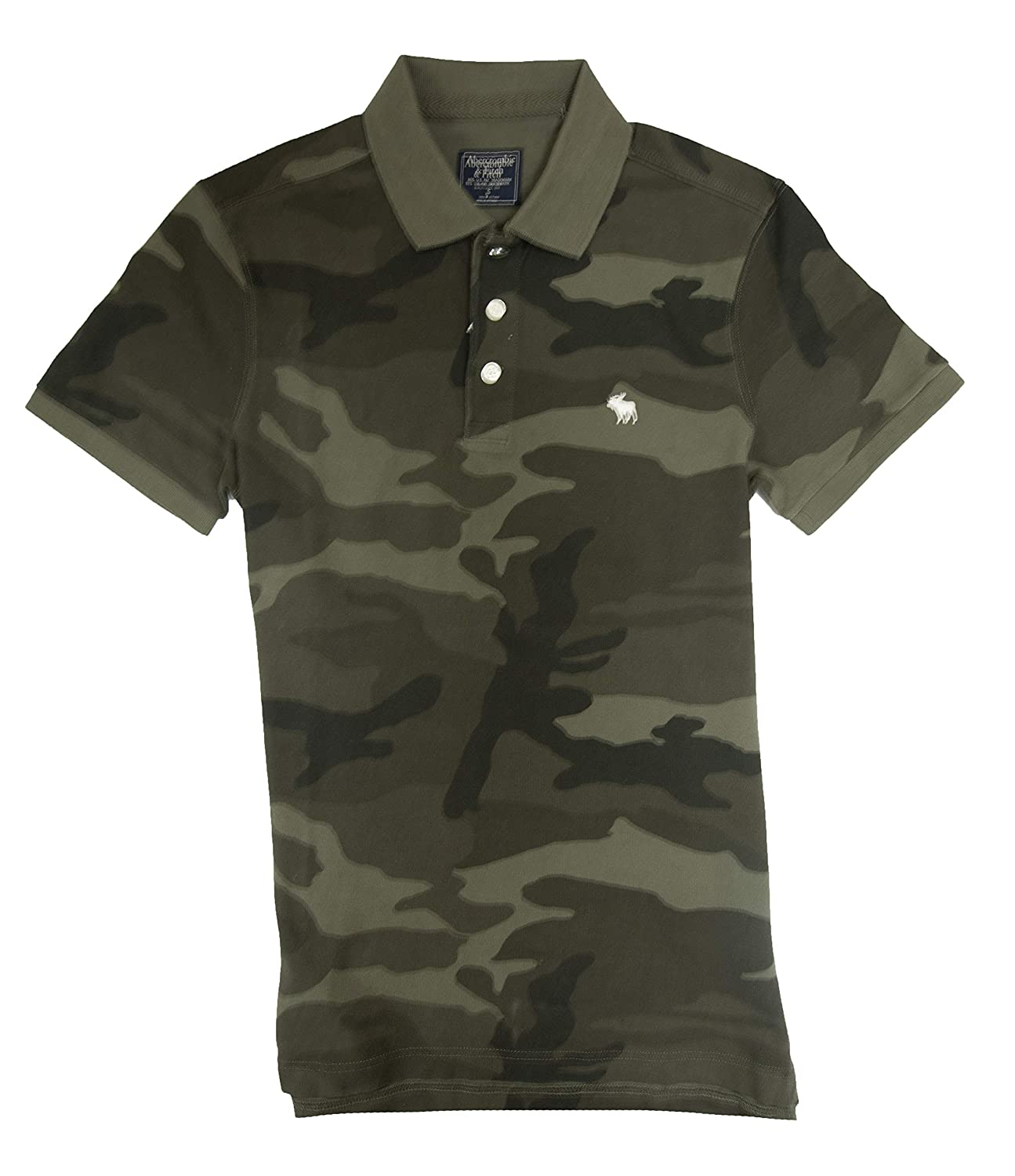b650abd7cedca Abercrombie & Fitch Men's Polo Shirt at Amazon Men's Clothing store: