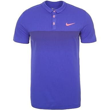 Nike - Nike Premier RF Roger Federer men s tennis polo shirt (purple red) d17ea45af9c6