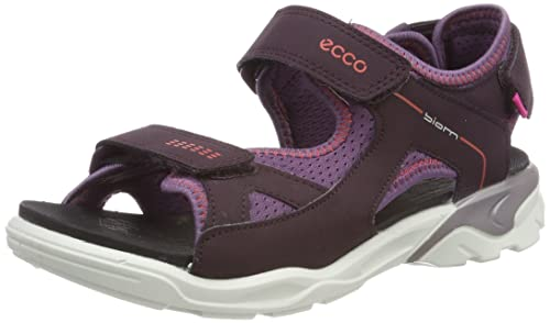 a44faedfe8 ECCO Unisex Kids' Biom Raft Open Toe Sandals, Purple (Mauve/Grape ...