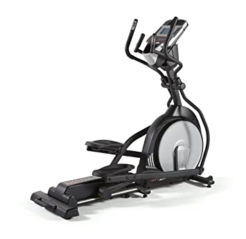 Sole E25 - Elíptica de fitness (heavy duty, manual, ritmo cardiaco) ,