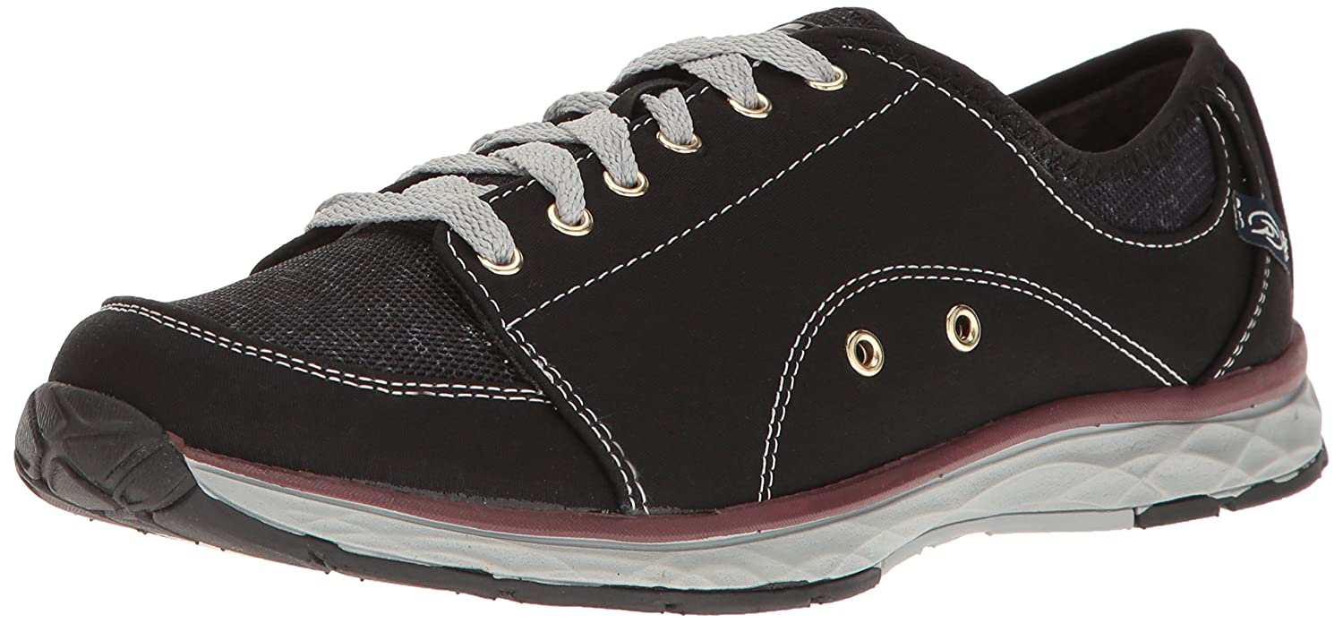 Dr. Scholl's Women's Anna Fashion Sneaker B01MUWNFZY 6.5 B(M) US|Black Twill/Fabric