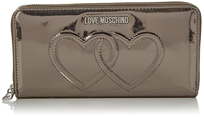 Love Moschino ArtÃculo monederos cartera JC5559PP04KL WALLET METAL PU: Amazon.es: Zapatos y complementos