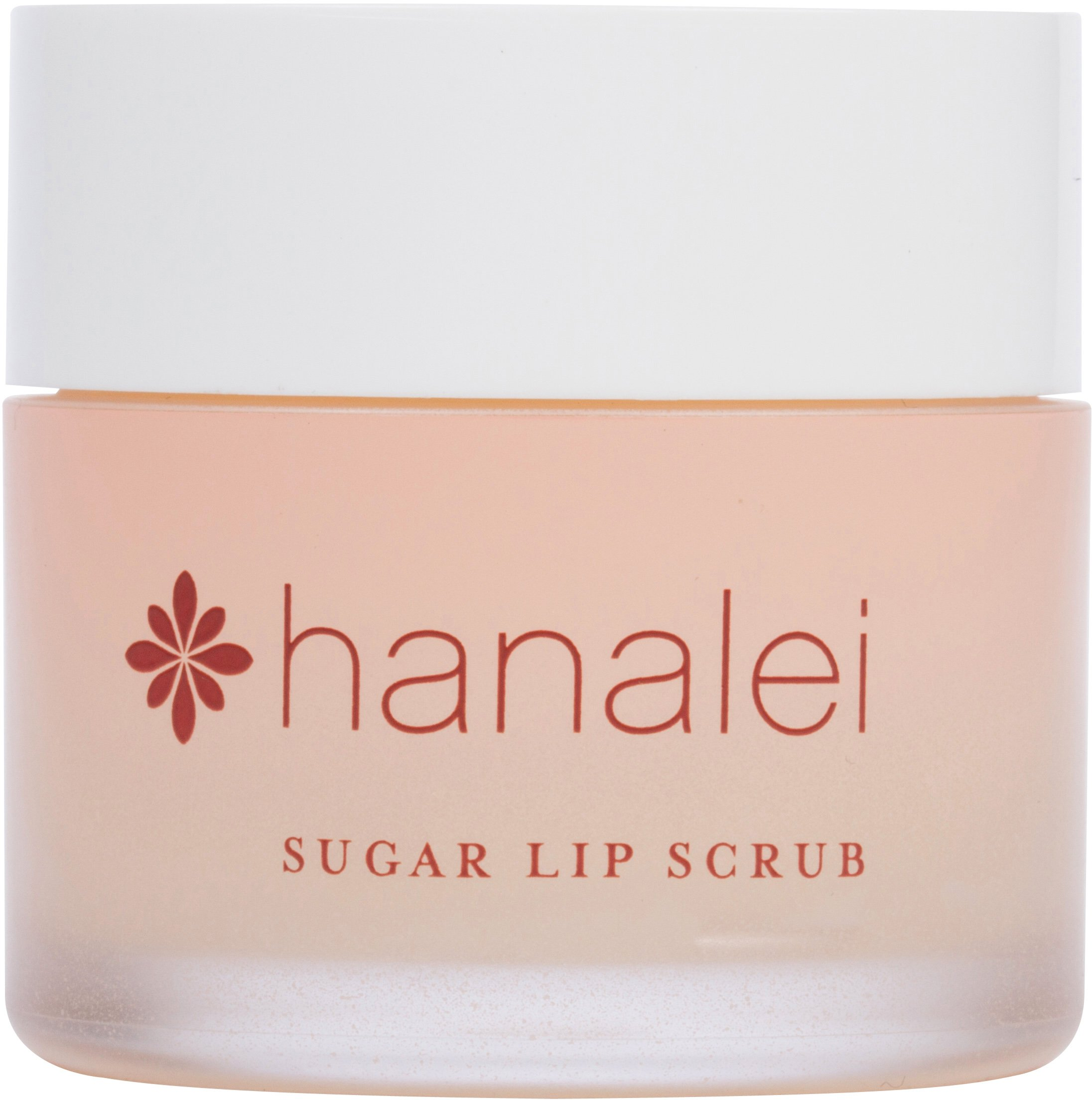 Sugar Lip Scrub by Hanalei Company, Made with Raw Cane Sugar and Real Hawaiian Kukui Nut Oil, 22g (Cruelty free, Paraben free) MADE IN USA