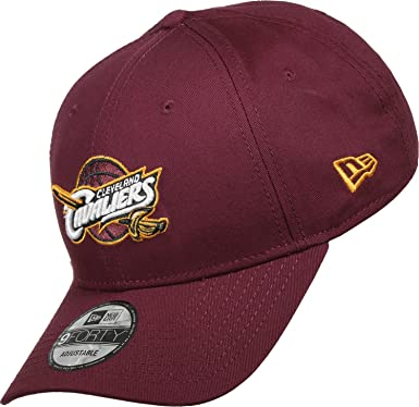 New Era Men s Nba Team 9Forty Cleveland Cavaliers Offical Team Colour Baseball  Cap dc2bfc7794c3
