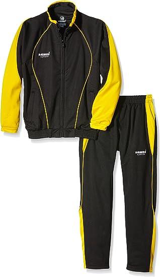 RHINOS sports Chándal Speedo, Color Negro y Amarillo, tamaño 128 ...