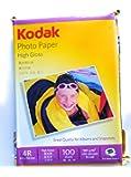 Kodak 180 GSM 4x6 Inkjet Paper  CAT 5740 306    Pack of 100 Sheets