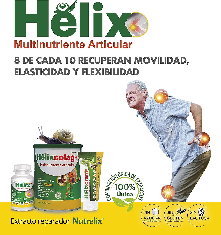 Suplemento natural para dolores en las articulaciones con cúrcuma, boswelia, extracto proteico del caracol y vitamina C para la formación del colágeno ...