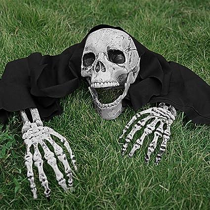 Amazon.com: MoonLa - Juego de estacas de esqueleto de ...
