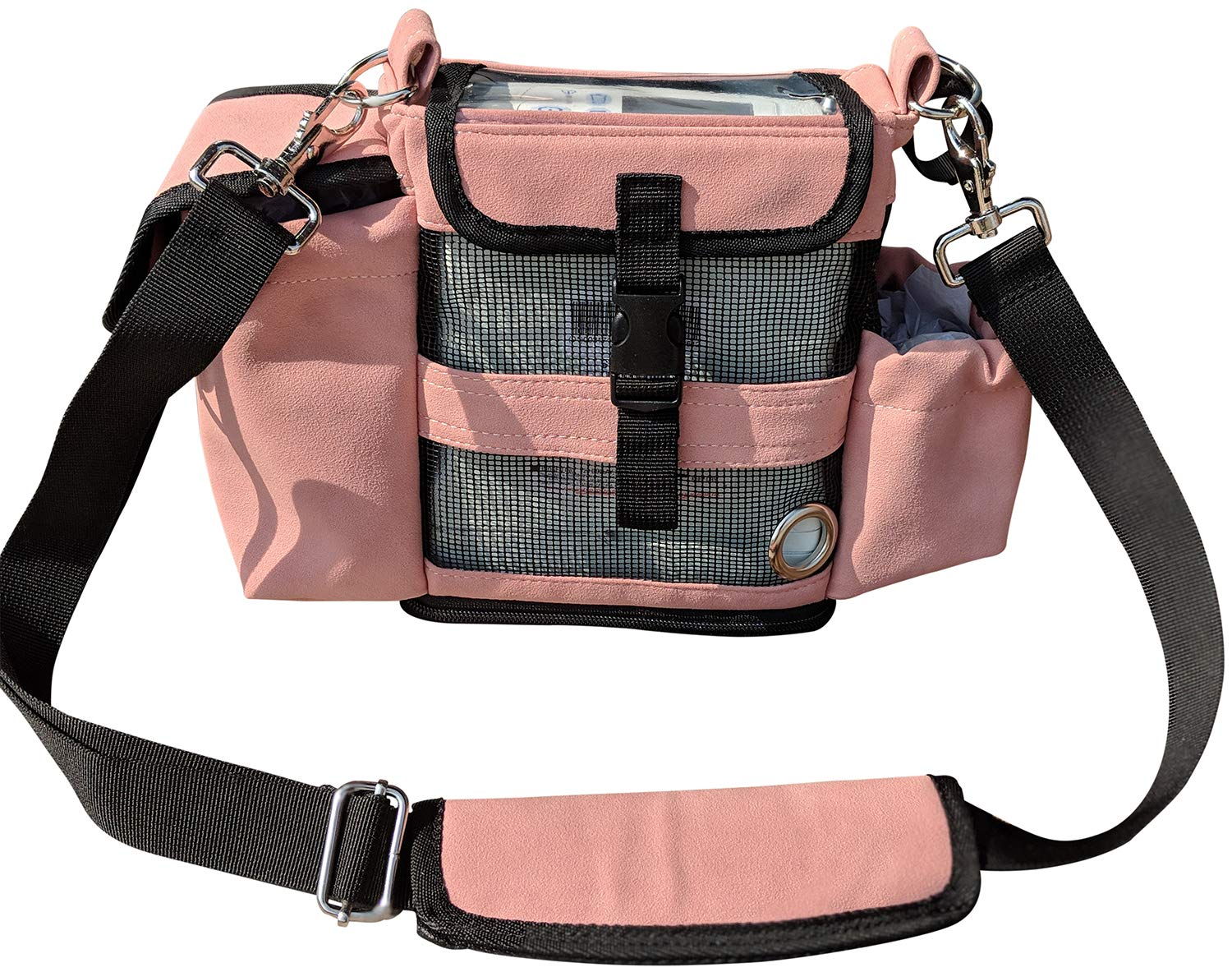 Carry Bag for Inogen one G4 & Oxygo Fit/Fits Extra Batteries, Keys, Wallet & More
