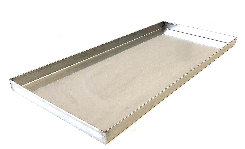 Teglia Leccarda INOX cm 88 x 27 per girarrosto ALLEGRI® per raccolta grasso ALLEGRI GIRARROSTI