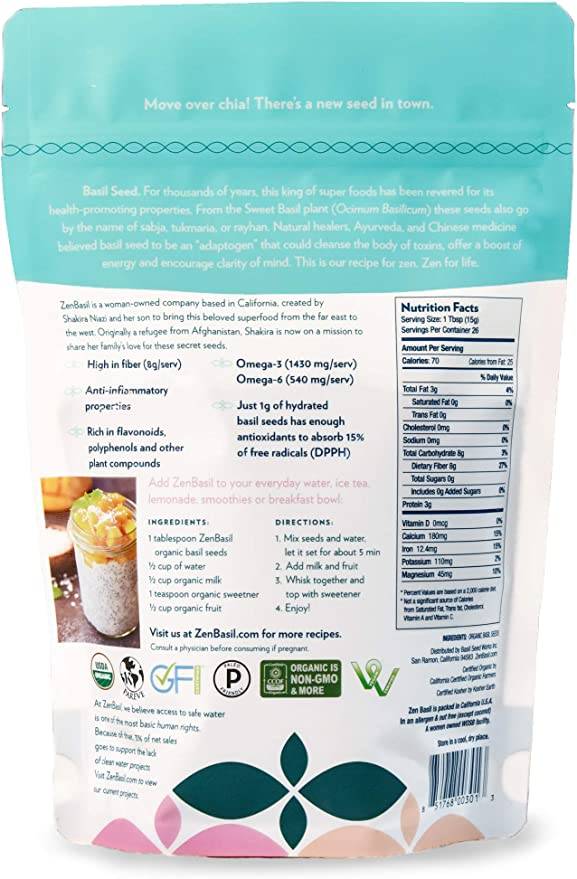 "Grande feuille italienne Sweet Basil Heirloom Seeds /â /â/—/"" par PowerGrow Systems 100+ graines /º BIO NON OGM basilic Graines CUSHY Graines de basilic"