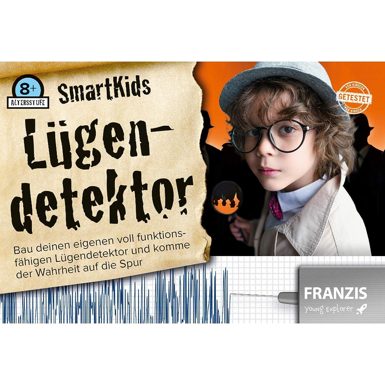 #1018 Experiementierbox L/ügendetektor selber Bauen und die Elektrizit/ät entdecken /• Bausatz Baukasten Experiementieren Elektronik Set Kinder