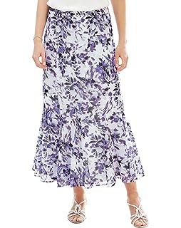 Womens Nightingales Printed Ity Skirt