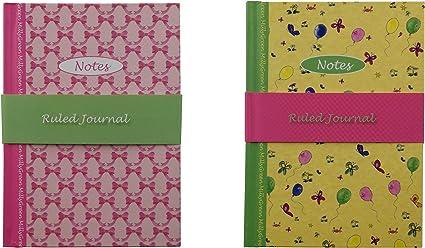 Robert Frederick- Pack 2 Libretas con tapa dura de Dibujo, con páginas de 1 ralla, tamaño A6 148mm x 105mm (Pack de 2 libretas A): Amazon.es: Oficina y papelería
