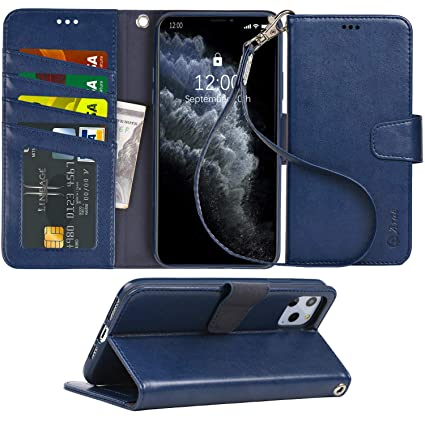 Amazon.com: Arae - Funda tipo cartera para iPhone 11 Pro Max ...