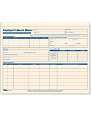 Tops Employee Record 9 1/2 x 11 3/4 Inch MLA Master File Jacket 15 Pack (32801)