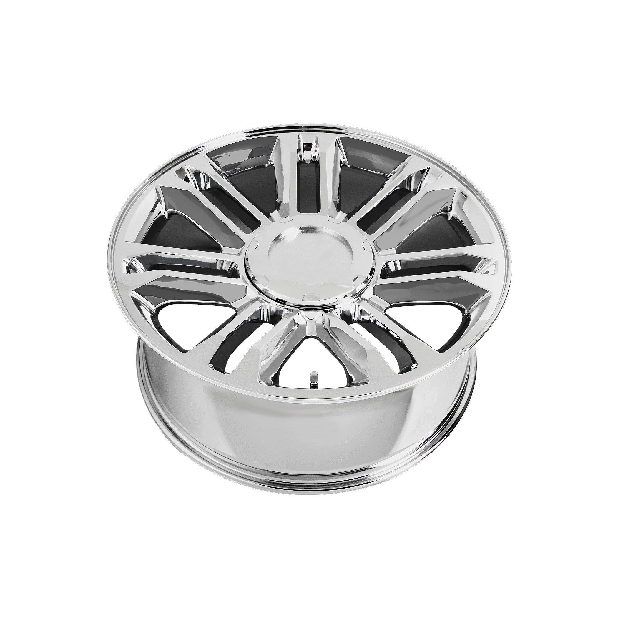 Wheel Replicas V1165 Chrome Wheel (24x10''/6x5.5'') by Wheel Replicas (Image #2)