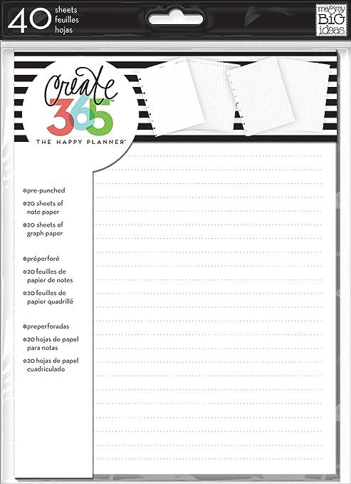 Amazon.com: me & my BIG ideas Create 365 The Happy Planner Note ...