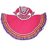 Ethnic Identity Girls Mexican Dress Vestido Jalisco