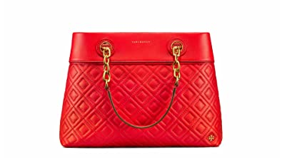 282e95296975 Image Unavailable. Image not available for. Color  Tory Burch Fleming Small  Leather Tote ...