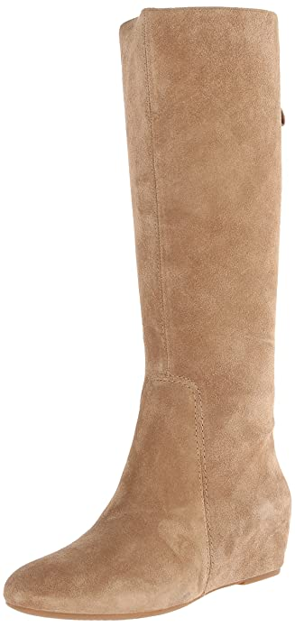 Nine West Women's Myrtle Riding Boot,Taupe,5.5 ...