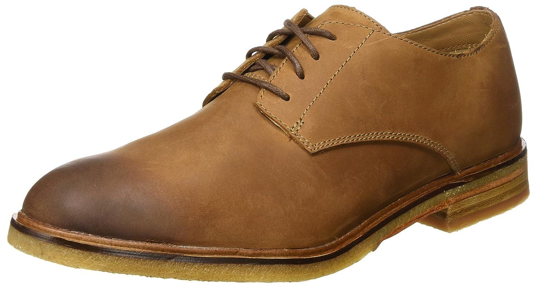 Clarks Clarkdale Moon, Zapatos de Cordones Derby para Hombre 46 EU Marrón (Dark Tan Lea)
