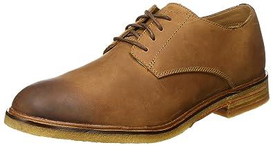 66acfe31b Clarks Men s Clarkdale Moon Dark Tan Lea Formal Shoes-10 UK India (44.5