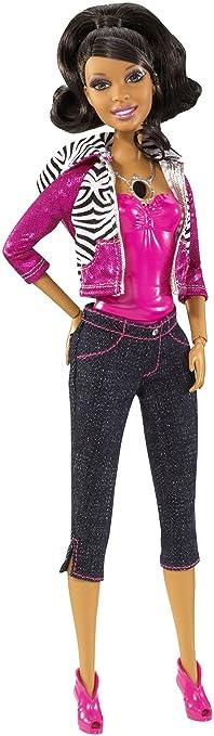 Surprising Amazon Com Barbie Video Girl African American Doll Toys Games Short Hairstyles Gunalazisus