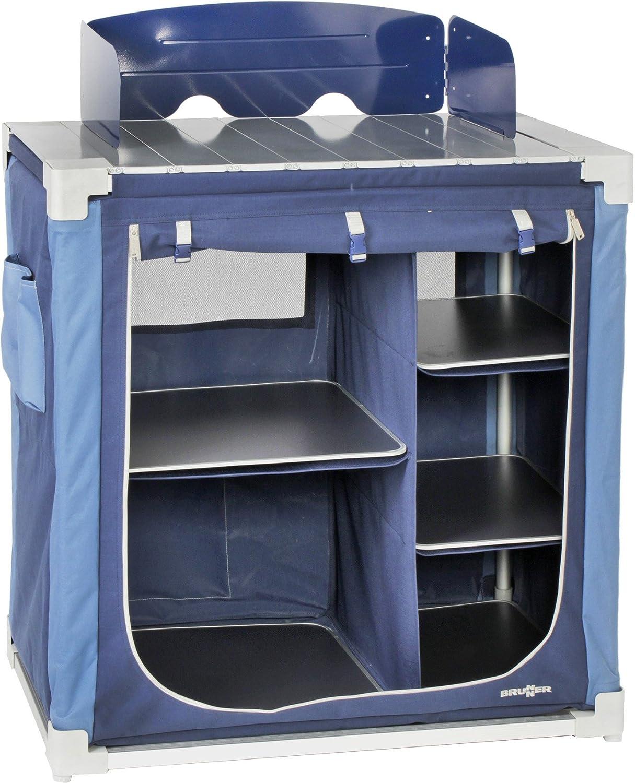 Brunner Küche Küchenschrank Kocherschrank Küchenbox Jum Box 600 CT Blau