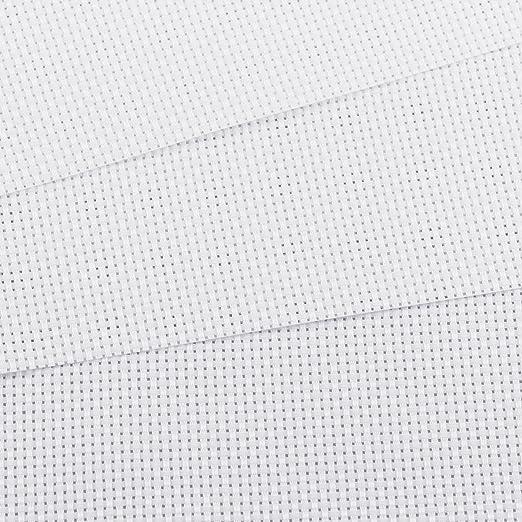 f/ür N/äharbeit 14 Count Wei/ß Kreuzstich Tuch und 11 Count Schwarz Sticken Stoff 8 St/ück Kreuzstichstoff Aida Stoff f/ür N/äharbeit Kreuzstich Stickerei DIY Kreuzstich Tuch 30 /× 30cm// 30 /× 45cm