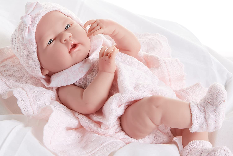 JC Toys La Newborn Pretty in Pink