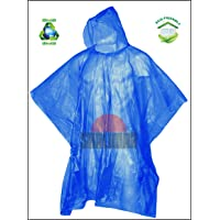 Shalimar Men's and Women's Reusable Rain Poncho (Multicolor, Free Size) -Pack of 6