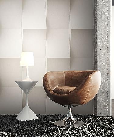 Steintapete Vinyl Beige Modern , Schöne Edle Tapete Im Steinmauer Design ,  Moderne 3D Optik Für