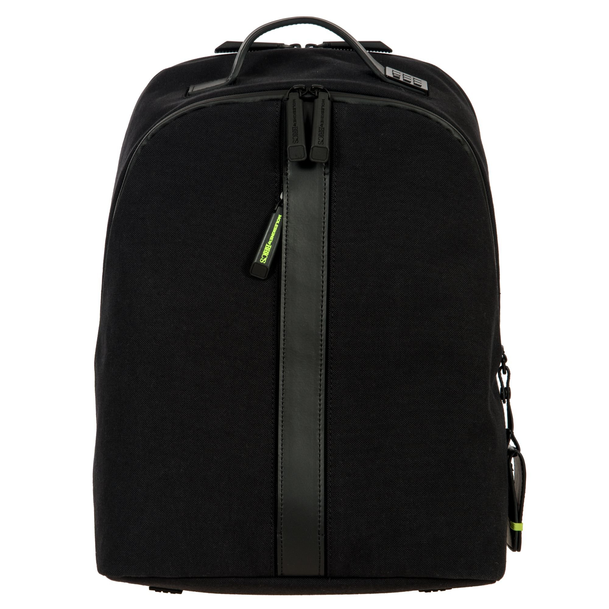 Bric's Men's Moleskine Classic Tablet Business Laptop Backpack, Black, One Size by Bric's
