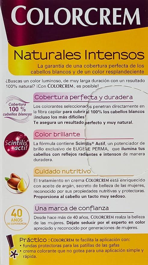COLORCREM tinte Rubio Oscuro Nº 60 caja 1 ud: Amazon.es: Belleza