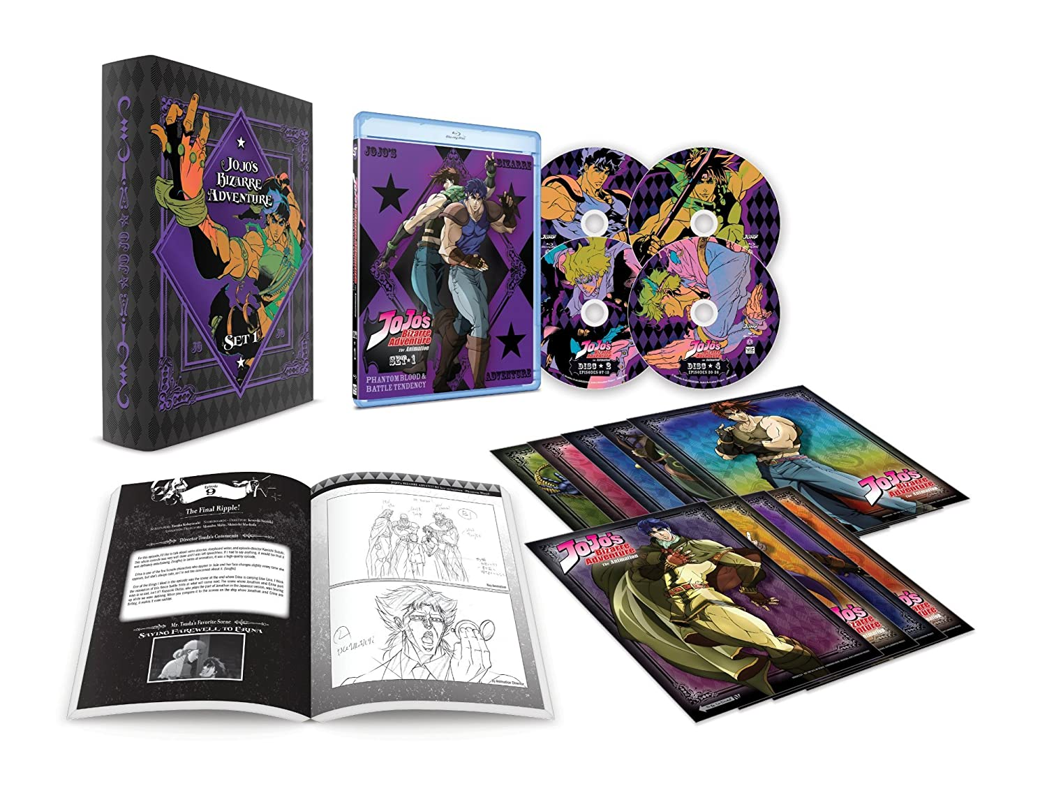 Amazon com: JoJo's Bizarre Adventure Set 1: Phantom Blood
