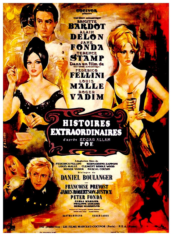 Bildresultat för Histoires extraordinaires film