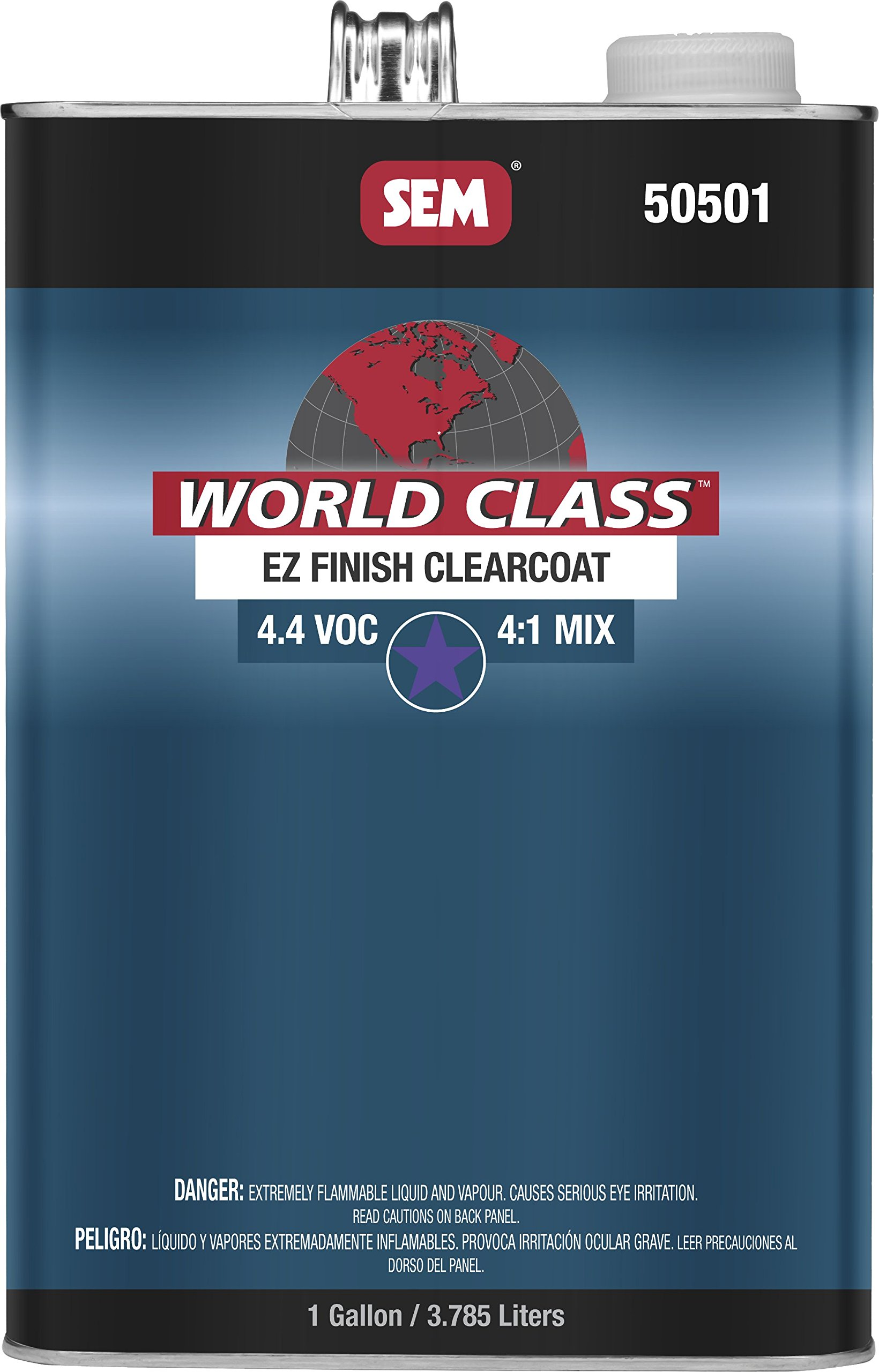 SEM 50501 Gallon World Class Ez Finish 4.2 Voc Clearcoat by SEM (Image #1)