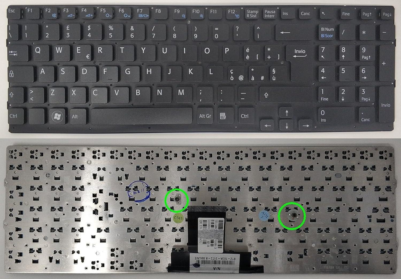 COMPRO PC Tastiera Keyboard Nera per Sony PCG71211M
