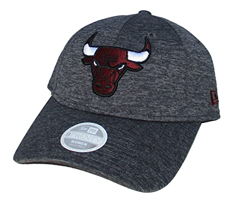 Image Unavailable. Image not available for. Color  Chicago Bulls New Era  Womens Adjustable One Size Hat ... 5de74dd3ca59