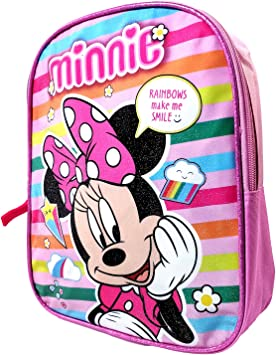 Pink Kids Toddler Baby Cute Minnie Mouse Joyful Safety Harness Backpack