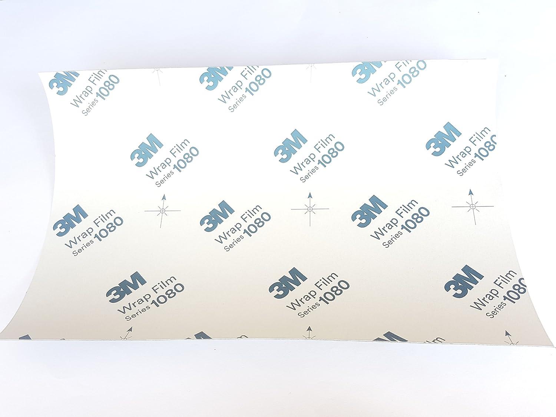 30/cm x 20/cm Made by 3/m Nero 1080/G12/Gloss veicolo Wrap