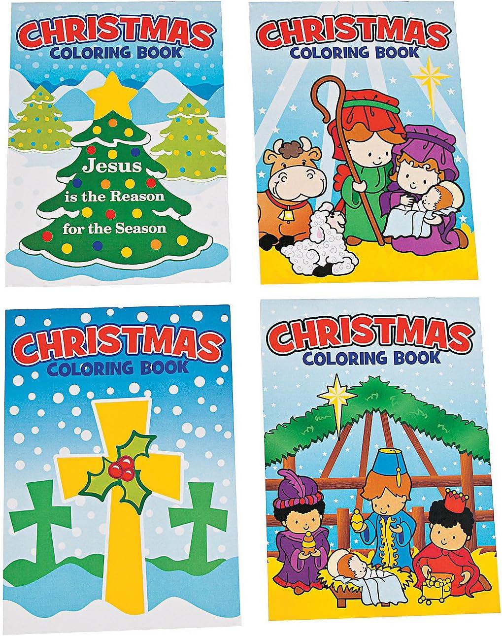 - Amazon.com: Fun Express Religious Christmas Coloring Books (72