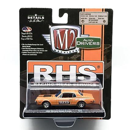 M2 Machines 1968 Mercury Cougar R-Code (RHS) Orange Metallic w/Semi