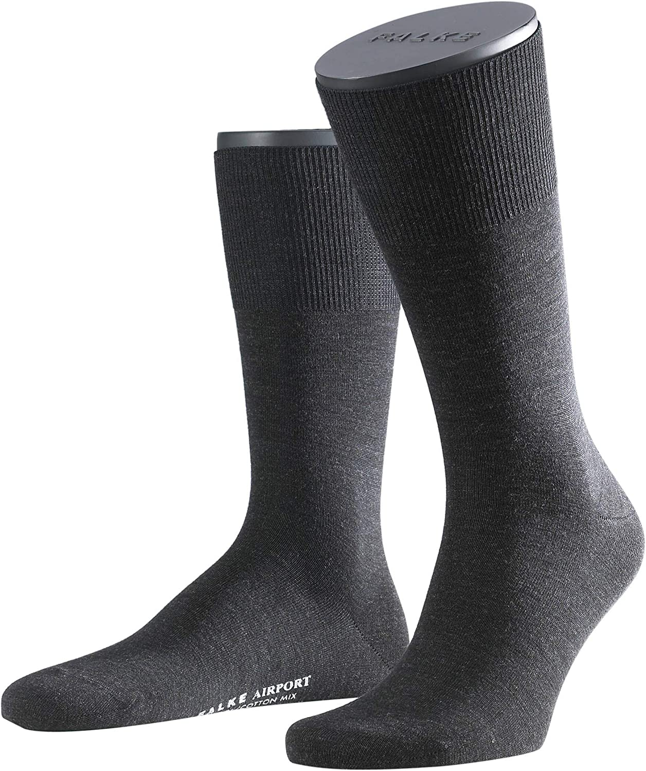 Color color selection Falke Mens Socks 1 pair Airportcity short stocking sizes 41-48 Size 7-8 UK Anthracite