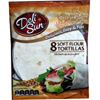 Delisun Soft Flour Tortillas Wraps (Small), 320g