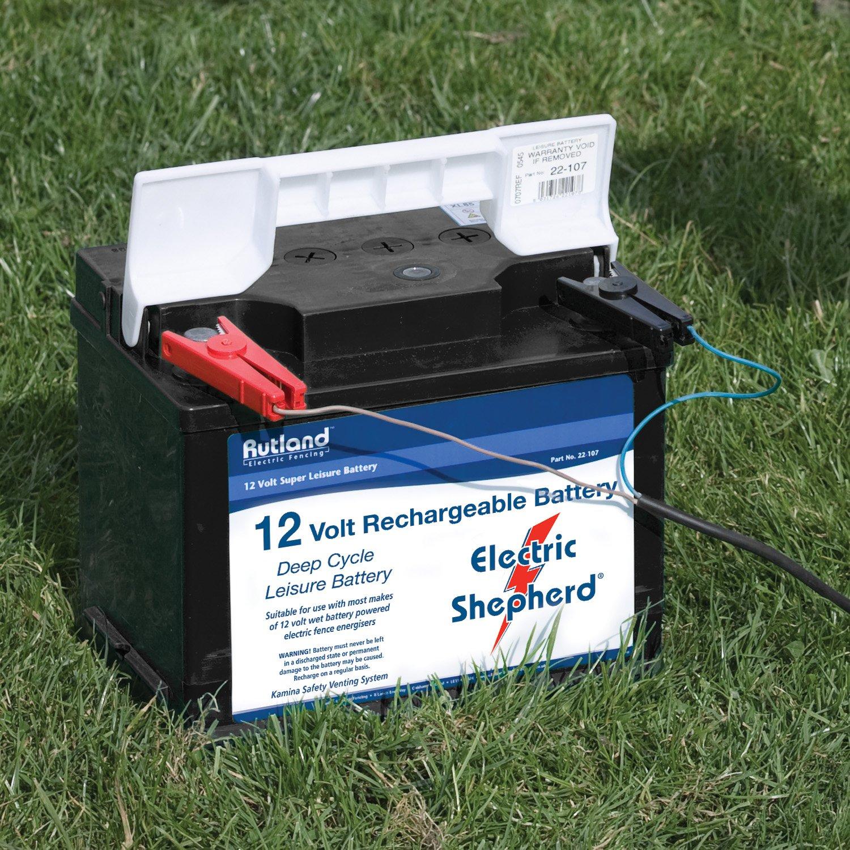 Embouts droits Rutland SP76-020R C/âble de raccordement et pinces pour batterie