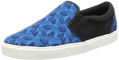 Mens Citilane Slip Low-Top Sneakers, Blue Crocs